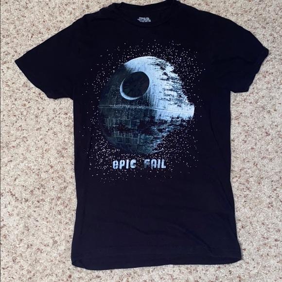 Star Wars epic fail Death Star tee.